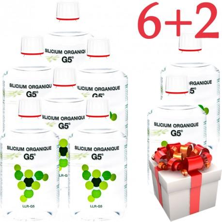 Silicium G® 500ml- 6+2 Gratuites